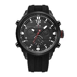 Relógio Masculino Weide AnaDigi WH-6303 - Preto