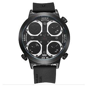 Relógio Masculino Weide Analógico UV-1503 - Preto