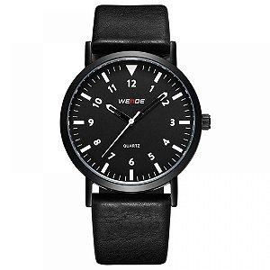 Relógio Masculino Weide Analógico WD003 - Preto e Branco