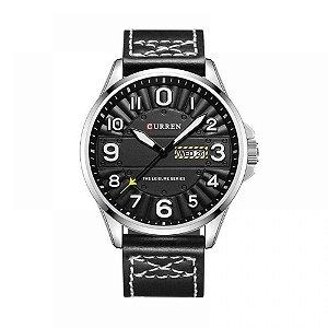 Relógio Masculino Curren Analógico 8269 - Preto e Prata