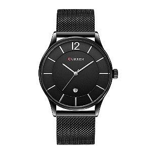 Relógio Masculino Curren Analógico 8231 - Preto