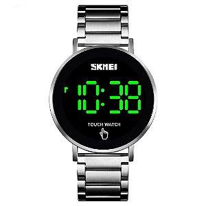 Relógio Unissex Skmei Digital 1550 - Prata