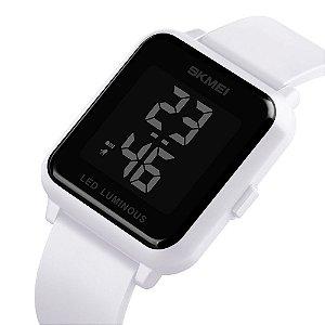 Relógio Unissex Skmei Digital 1566 - Branco