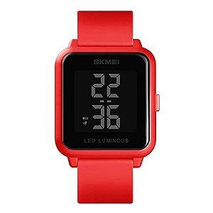 Relógio Unissex Skmei Digital 1566 - Vermelho