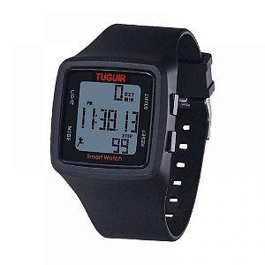 Relógio Pedômetro Masculino Tuguir Digital TG1606 - Preto