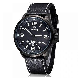 Relógio Masculino Skone Analógico 9345AG - Preto