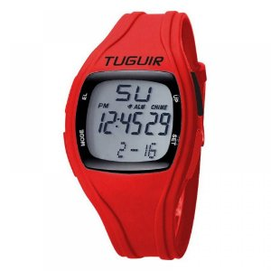 Relógio Unissex Tuguir Digital TG1801 - Vermelho