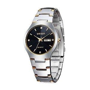 Relógio Masculino Weiqin Analógico W4164AG Preto