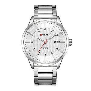 Relógio Masculino Curren Analógico 8316 - Prata