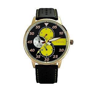 Relógio Masculino Tierxda Analógico 5274G Amarelo