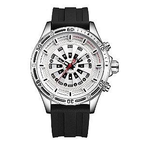 Relógio Masculino Weide Analógico WH-7308 - Prata e Branco