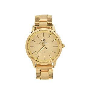 Relógio Feminino Tuguir Analógico TG106 - Dourado