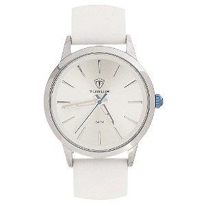 Relógio Feminino Tuguir Analógico TG106 - Prata e Branco