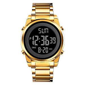 Relógio Masculino Skmei Digital 1611 - Dourado