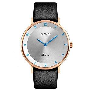 Relógio Unissex Skmei Analógico 1263 - Rosé e Azul
