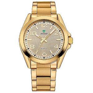 Relógio Masculino Weide Analógico WH801G - Dourado
