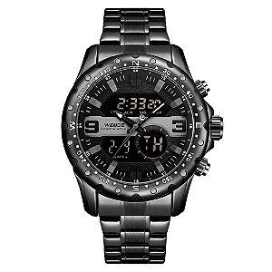 Relógio Masculino Weide AnaDigi WH8502 - Preto