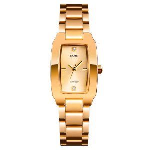 Relógio Feminino Skmei Analógico 1400 - Dourado