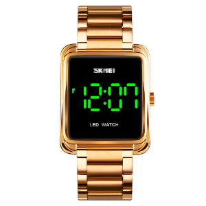 Relógio Masculino Skmei Digital 1505 - Dourado