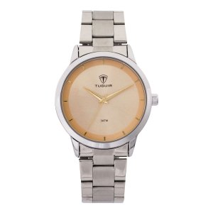 Relógio Feminino Tuguir Analógico TG113 - Prata e Rosa