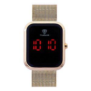 Relógio Unissex Tuguir Digital TG110 - Dourado
