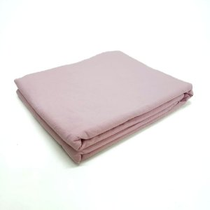 Lençol Avulso Casal Premium 100% algodão Percal Rosa Estamparia