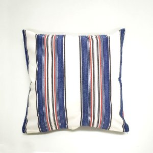 Capa para Almofada 40 x 40 cm Listras Azul Bellestar