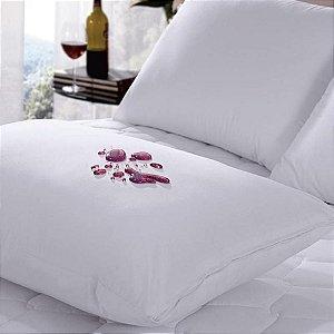 Capa Protetora 50 x 70 m Impermeável Para Travesseiro Branco Belchior