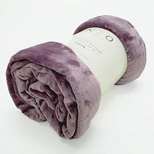 Cobertor Velour 240x220cm Queen Microfibra Rose Camesa