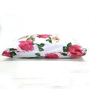 Fronha Avulsa 50 x 70 cm 100% Algodão Flores Camesa