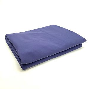 Lençol Avulso Queen Premium 100% algodão Percal Azul Royal Estamparia