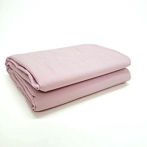 Lençol Avulso Queen Premium 100% algodão Percal Rosa Estamparia