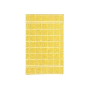 Pano de Copa 41 x 60 cm 100% algodão Felpudo Amarelo Santista