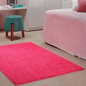 Tapete 2,00 x 2,50 m Apolo Pink Prata Têxtil