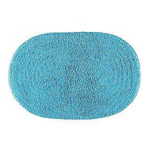 Tapete Banheiro 40 x 60 cm Attuale 100% Algodão Victória Aqua Corttex