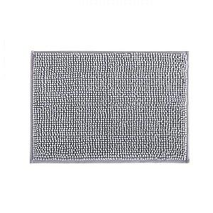 Tapete Banheiro 40 x 60 cm Dallas Microfibra Cinza Corttex
