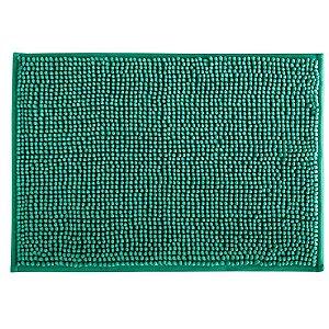 Tapete Banheiro 40 x 60 cm Dallas Microfibra Turquesa Corttex
