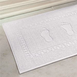 Tapete De Banheiro 45 x 70 cm Pezinhos Branco Buettner