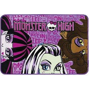 Tapete Infantil 80 x 120 cm Monster High Trio Jolitex