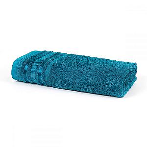 Toalha Banho 70 x 135 cm 100% Algodão Prata Dante Azul Santista