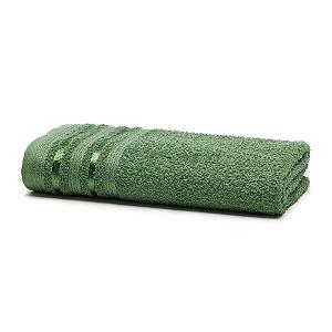 Toalha Banho 70 x 135 cm 100% Algodão Prata Dante Verde Santista