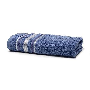 Toalha de Banho 70 x 135 cm Prata 100% Algodão Serena Indigo Santista