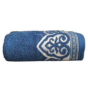 Toalha De Banho Extra Comfort Marrocos Azul Lufamar