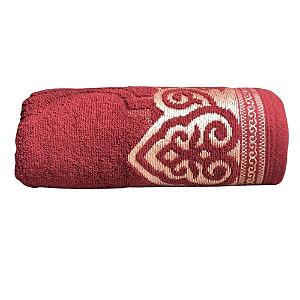 Toalha De Banho Extra Comfort Marrocos Vermelho Lufamar