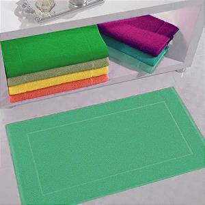 Toalha de Piso 100% Algodão 50 x 70 cm Light Verde P.casa