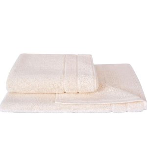 Toalha Piso 50 x 75cm 100% Algodão Branco Atlantica