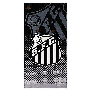Toalha De Futebol Buettner Oficial Veludo Santos Glorioso Bouton