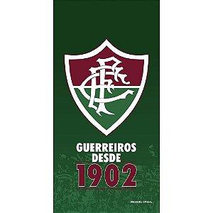 Toalha de Futebol Fluminense Buettner Oficial Aveludada Bouton
