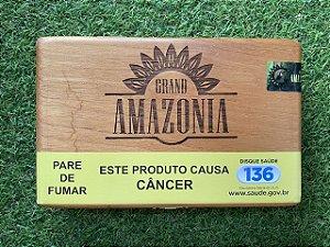 Charuto Brasileiro Grand Amazonia Robusto - Caixa Com 10