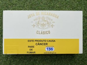 Charuto Joya de Nicaragua Classico Robusto - Caixa com 25